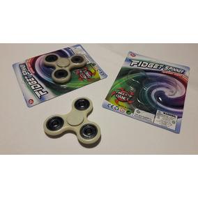 Promo X10 Fidget Spinner 4 Rulemanes Brilla En La Oscuridad!
