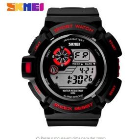 0dc795d7eea Relogio Digital Feminino Preto Barato - Relógios no Mercado Livre Brasil
