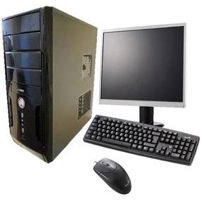 Computador Completo Novo Dual 1gb Hd 80gb Wifi #mega Barato