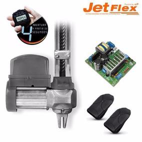 Kit Motor Portão Eletrônico Basculante Ppa Jet Flex 1/2 4s