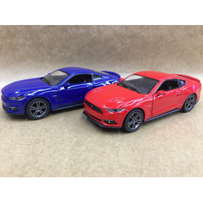 Miniatura Mustang Abre Portas A Fricção Unidde