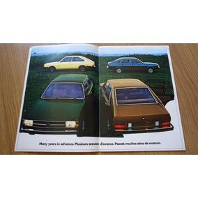 Folder Brochura Vw Passat Surf Ts L Ls 1980
