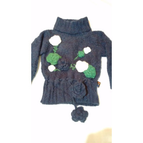 Sweter Sueter Pullover Polera Para Bebe Niña Anacleta