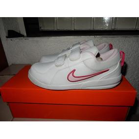 Tenis Nike Pico 4 Fiusha Bco Talla 17-22 Niña Sc $990