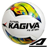 Bola De Futsal Kagiva F5 Brasil Salão Oficial Liga Nacional
