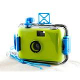 Camera Aquática Analógica Filme 35mm Aquapix Reutilizável