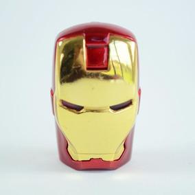 Pendrive Homem De Ferro Com Led - 32gb