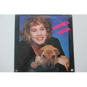 Lp Andréa Veiga, 1990 Xuxa Disco Sem Uso.