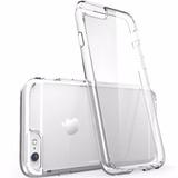 Funda Transparente Iphone 6 Plus + Vidrio Templado Glass