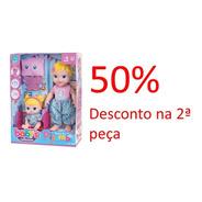 Promoção Boneca Babys Collection Festa Do Pijama 408