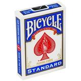 1 Baraja Bicycle Standar Rojo O Azul Para Poker O Magia