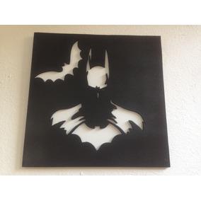 Batman, Cuadro En Madera Mdf