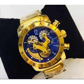 0e7d2189bdd Relogio Bvlgari Automatico Preto - Relógio Masculino no Mercado ...