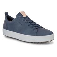 Golf Center Zapato Ecco Soft Men Azul Impermeable        T44