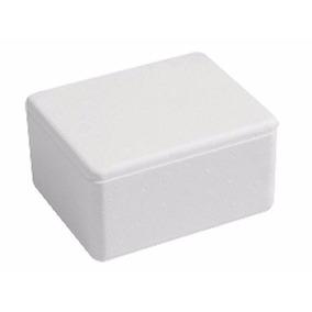 Kit 5 Caixa De Sobrepor Balun Cftv Quadrada Branca C/ Tampa