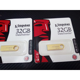 Memoria Usb 32gb Kingston Metalica A Precio De Mayoreo