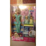 Barbie Quiero Ser Pediatra. Mattel.