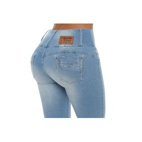 Jeans Colombiano Levanta Cola Celeste / Grupoborder