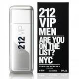 Perfume Locion 212 Vip Carolina Herrera 100 Ml Hombre