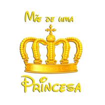 Kit 03 Blusas Branca Tal Mãe - Pai Tal Filha Princesa Coroa