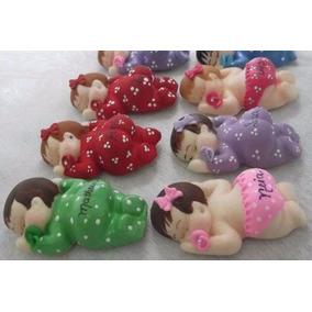 55 Lembrancinhas Maternidade/chá De Bebê Em Biscuit/chaveiro