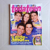 Revista Toda Teen N°74 Max Dado Bruno Iran Vavá Ano 2002
