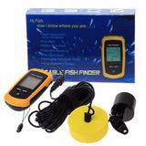 Ecosonda Portatil De Pesca Fish Finder - Sonar - 100 Mts -