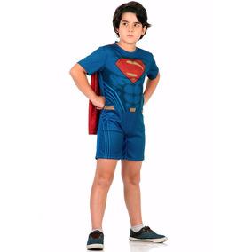 Fantasia Super Homem Infantil Curta Sulamericana