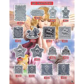 Plaquitas Repujado Bautizo Recuerdos Manualidades Aluminios
