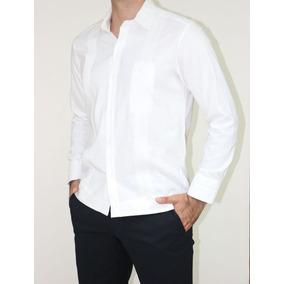 Guayabera Fina, 100% Estilo Lino - Camisa Yucateca