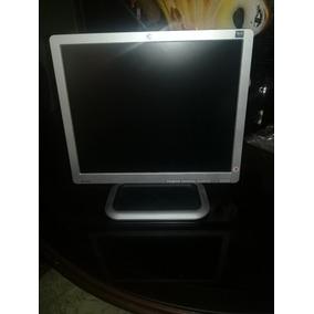 Monitor Hp 17 Lcd Flat Plano L1710