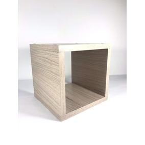 Cubos Minimalistas Madera Repisas Adorno Set 3 Muebles
