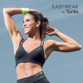 Top Deportivo Tania Ref. Pit008 Negro Mujer
