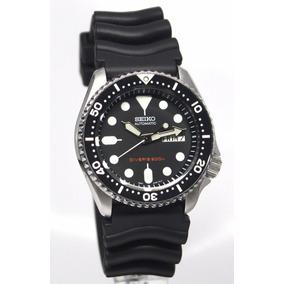 Reloj Seiko Diver Jumbo P/ Buceo Nos Caucho Cuero Automatico