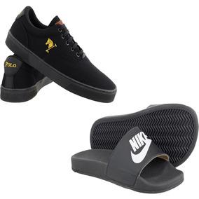 ac05f51d55 Polo Rebaixado Homem Sapatos Feminino Chinelos Outras Marcas ...