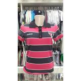 Camisa Polo São Paulo Feminina Reebok Bicolor