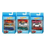Kit 3 Carrinhos Hot Wheels Sortidos Mattel Original