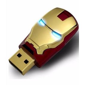 Pen Drive Iron Man 8gb Homem De Ferro Pronta Entrega