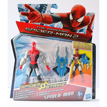 Muñeco Amazing Spiderman Strike Escudo Letal Hasbro Original