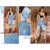 Braga Jeans De Short Pantalon Colombiana Lyl Levanta Cola