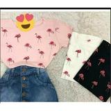 Kit10 T-shirts Linda Blusas Feminina Roupas Atacado Revenda