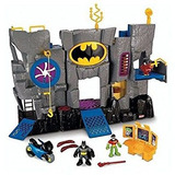 Juguete Fisher-price Imaginext Baticueva Bat Cave Con Batma
