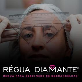 Régua Para Design De Sobrancelhas - Régua Diamante