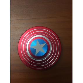 Spinner Metal Escudo Capitán America. Cuernavaca Morelos