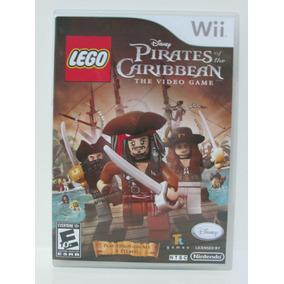 Lego Pirates Of The Caribbean - Nintendo Wii Original Manual