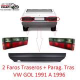 Paragolpe Trasero + Faro Trasero Vw Gol 91 92 93 94 95 96 !!