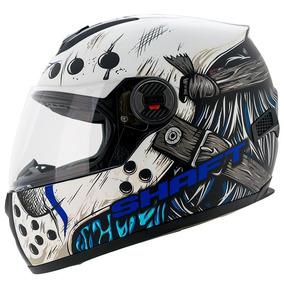 Casco Motociclísta Tipo Pista Integral Shaft Jason Blue