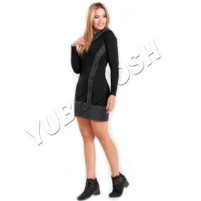 Vestido Casual Dama Strech Tipo Sweter Saco Buso Algodon
