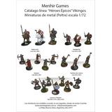 Soldaditos Miniaturas De Metal Vikingos Rol Ind. Arg.