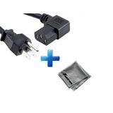 Samsung Pn43d440 Cable De Cable De Ángulo Recto De 15 Pies